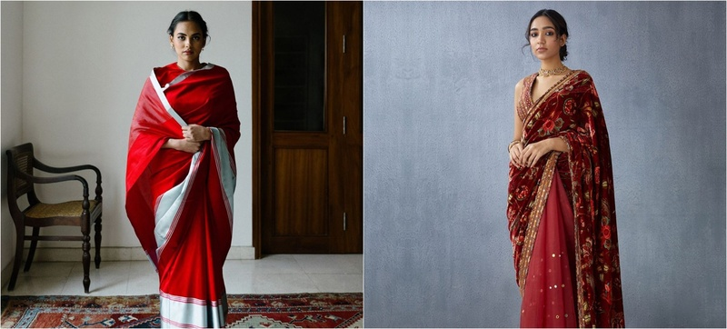 10 Subtle and Stunning Saris you Can Wear for your Court Marriage