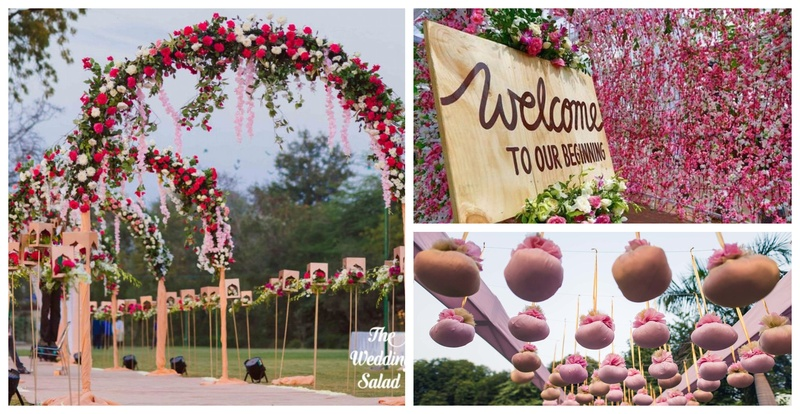 Wedding Entrance Designs to mesmerize your guests from the very first step!