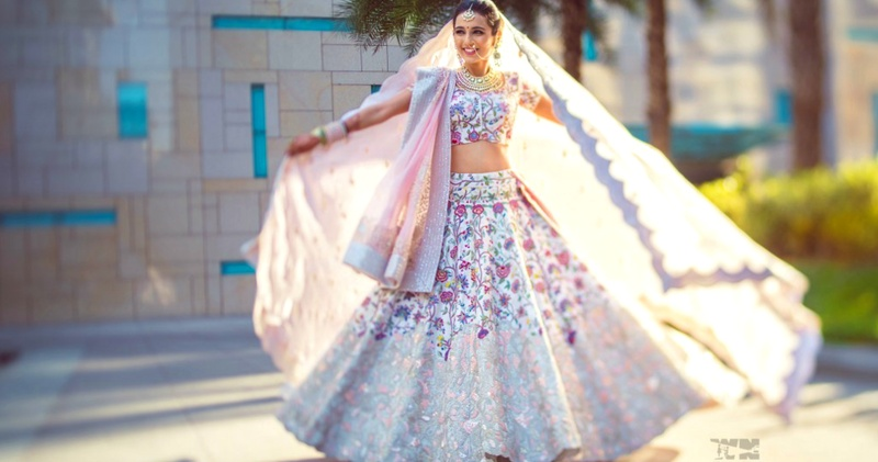 All the lehenga, makeup & styling tips for a short bride-to-be!