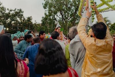 Bengali bridal entry