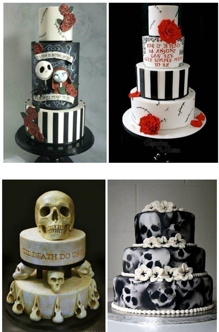 Walking Dead Wedding Cake Toppers