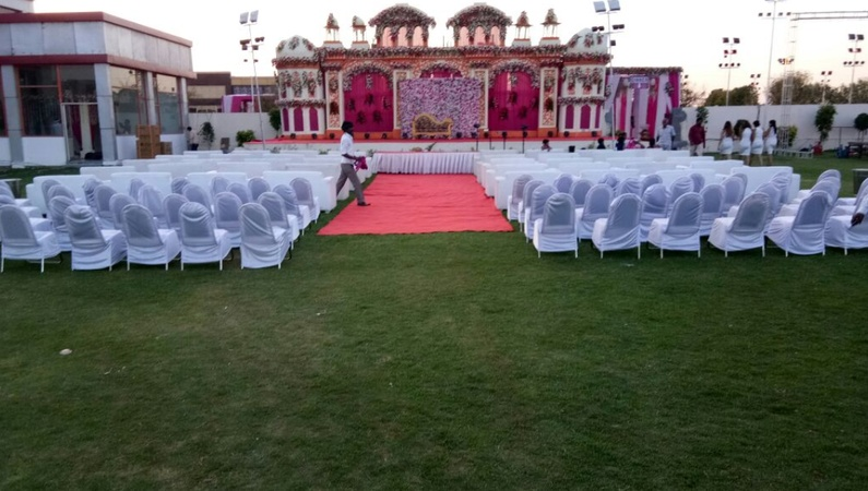 Radha Krishna Marriage Garden Mansarovar Jaipur Banquet
