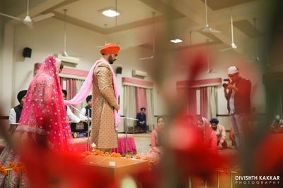 Gurudwara wedding ceremony.