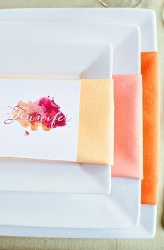 Trending In Wedding Ideas How To Throw A Watercolor Themed Wedding