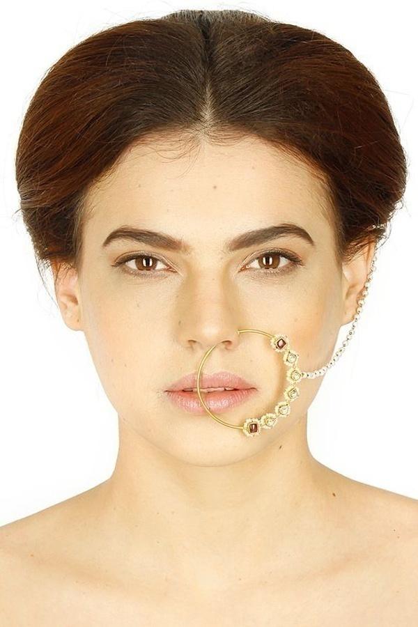 Heavy Bridal Nose Ring Designs
