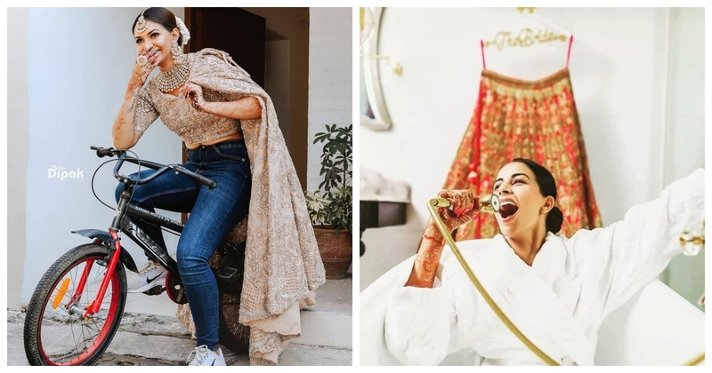 5 Unique and Quirky Lehenga Shots