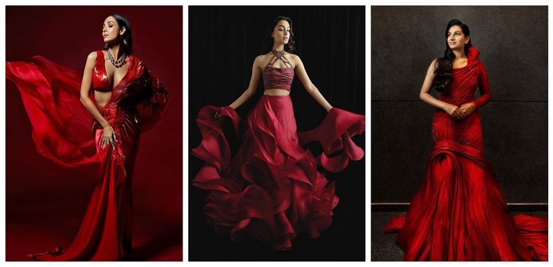 #ValentineSpecial: 8 Stunning Red Outfits for Millennial Brides-to-be!