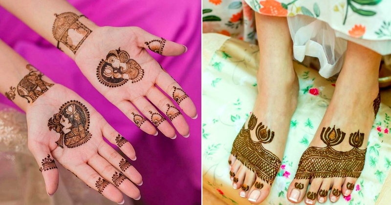 15+ Minimalist mehndi designs for the brides who like to keep it simple.