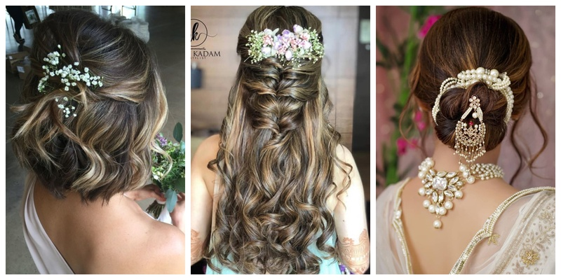 Trending Wedding Hairstyles for long, short & medium haired brides!