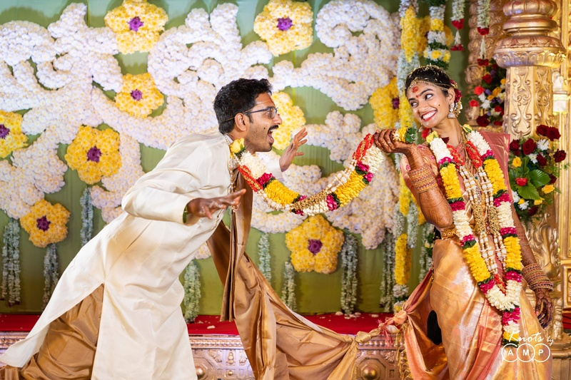 Lohit & Rishika Vijayawada : When a tennis champ and data scientist fall for each other, they head straight for the home run!