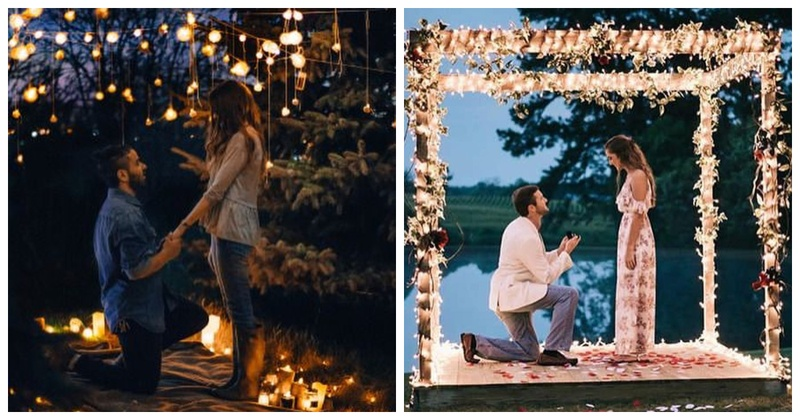 10 Most Unique, Creative and Romantic Proposal Ideas that guarantee a