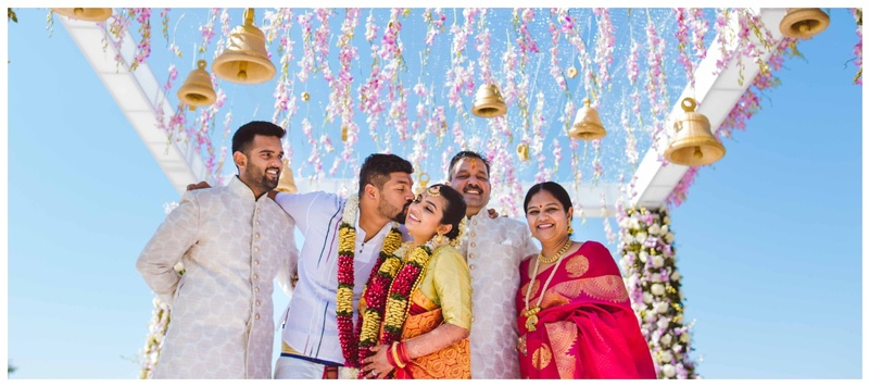 Karthik & Arushi Jodhpur : Moroccan sangeet and Tamil Kalyanam- this couple perfectly blended fun with traditions.