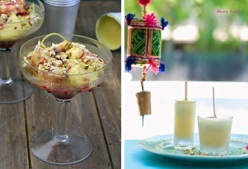 Wedding food bar idea: KULFI STATION