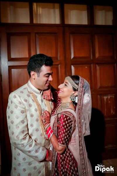 Lovely post wedding photoshoot of the newly wed Bride and Groom