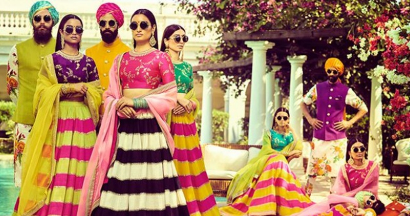 Sabyasachi Mukherjee's Latest Collection Is All That A Summer Bride Needs!