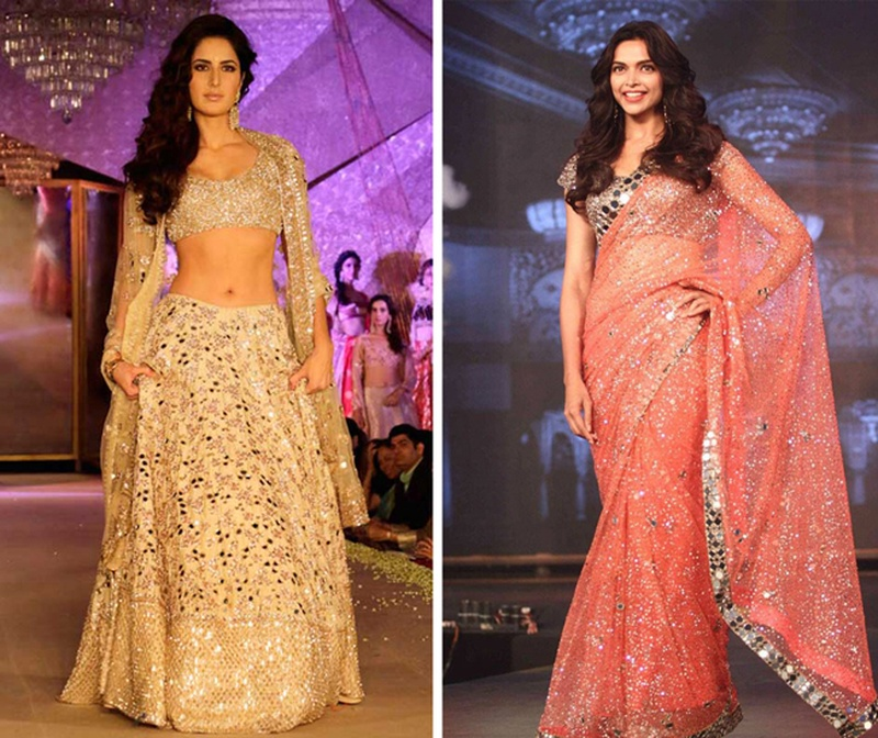 Pastels and Mirrorwork – Chic Twist To Indian Bridal Wear