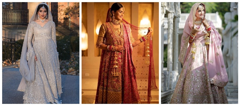 12 Anarkali, Suits and Sharara Designs for brides who want to ditch lehengas this wedding season!