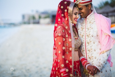 Post wedding  photoshoot by Into Candid Photography.