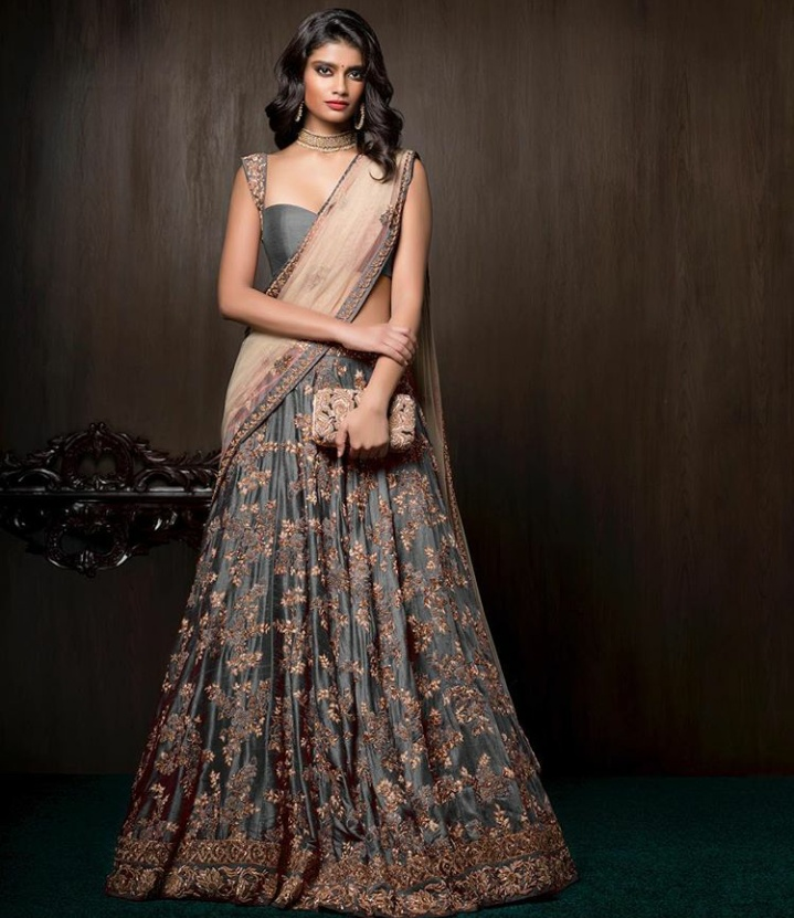Latest colour combination for wedding-7031