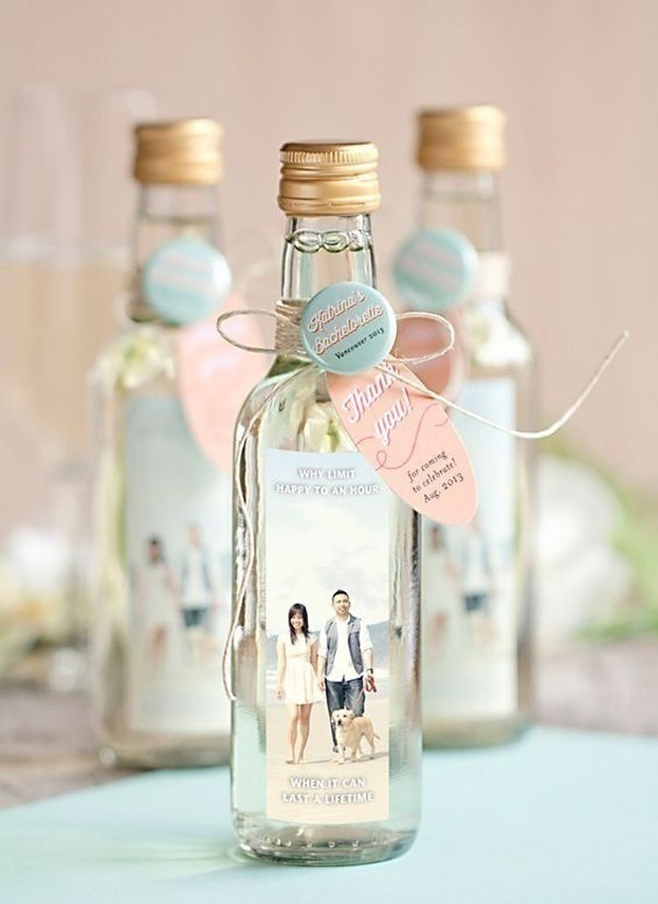 Personalize the Bottles with Your Photos and Add a Special Note