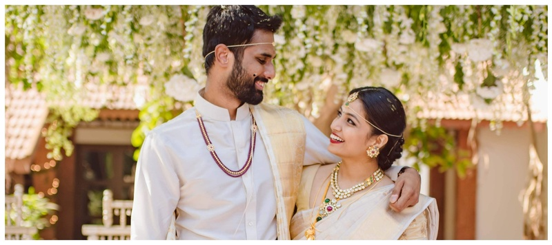 Hemanth & Aksha Goa : With rustic and refreshing decor ideas, this wedding exhibited a sense of serenity and minimalism.