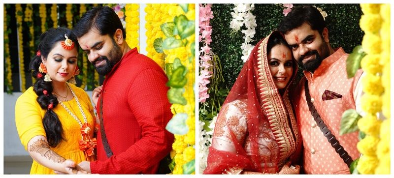 Avantika and Vikram Pune Lockdown Home Wedding