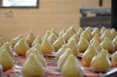 Barfi modak, delicious indian sweets