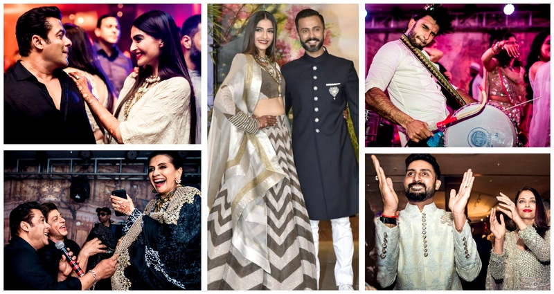 The unseen pictures from Sonam Kapoor Ahuja's Reception - it sure was one big Bollywood party!
