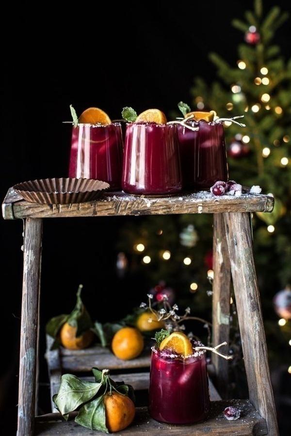 Cranberry Orange Margaritas