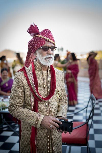 Royal wedding guest decked in majestic Sherwani