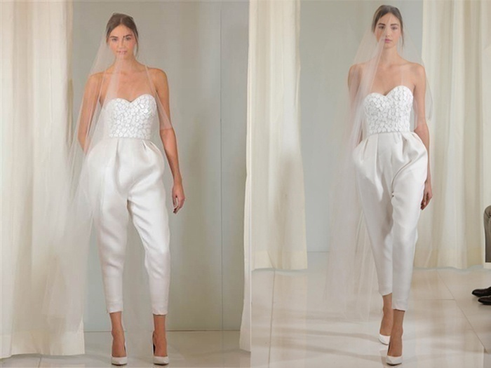 Jumpsuit Wedding Dress