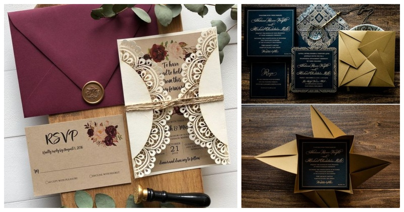 20 Invitation Card Designs to Check Before Getting your Wedding ...