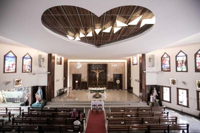 The Lady of the Sacred Heart Church (OLSH) - Bangalore.