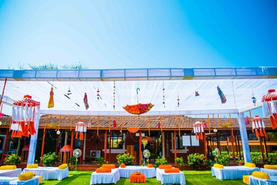 Bay15, Goa where this quirky wedding was held!
