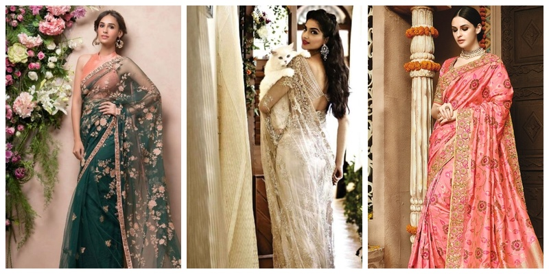 20 designer sarees for wedding that you will love to wear!