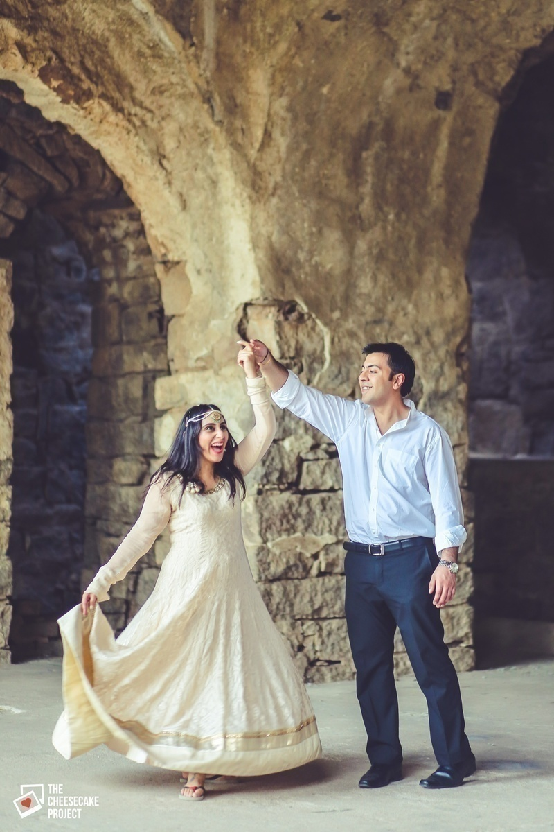 Pre-Wedding Shoot at an Old Fort