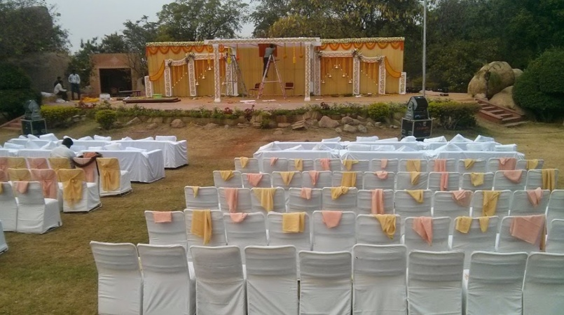 Rock Heights Hitech City Hyderabad - Wedding Lawn