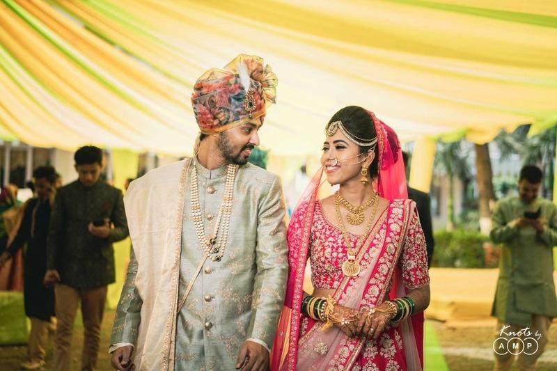 Monika and Sanket Aurangabad Wedding