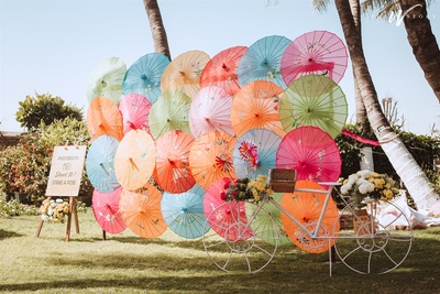 colourful mehendi decor ideas
