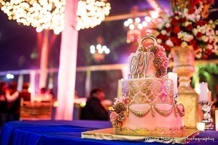 why do we cut wedding cake together how to blend western wedding ideas in traditional indian 27462