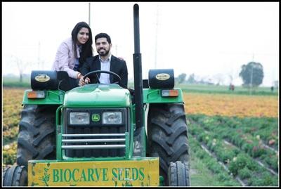 Punjabi style wedding shoot