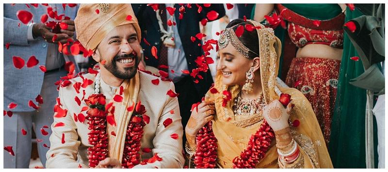 Anivek & Tania Chandigarh : This couple had a minimalistic yet gorgeous Hindu wedding and Anand Karaj!