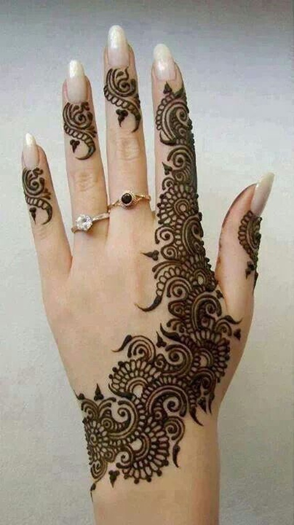 Best Arabic Bridal Mehndi Designs That Are Effortlessly Gorgeous - Blog