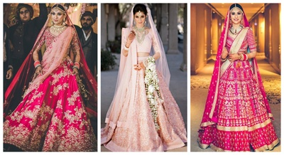 30 Pink Best Bridal Lehengas that Stole Our Hearts this Wedding Season!
