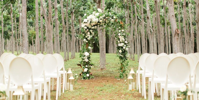 Outdoor Wedding Venues in Cuttack for a Garden-Party Themed Wedding