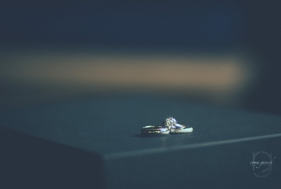 bridal ring for the engagement ring