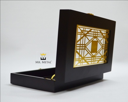 Exquisite Affaire Geo Glam Wedding Box