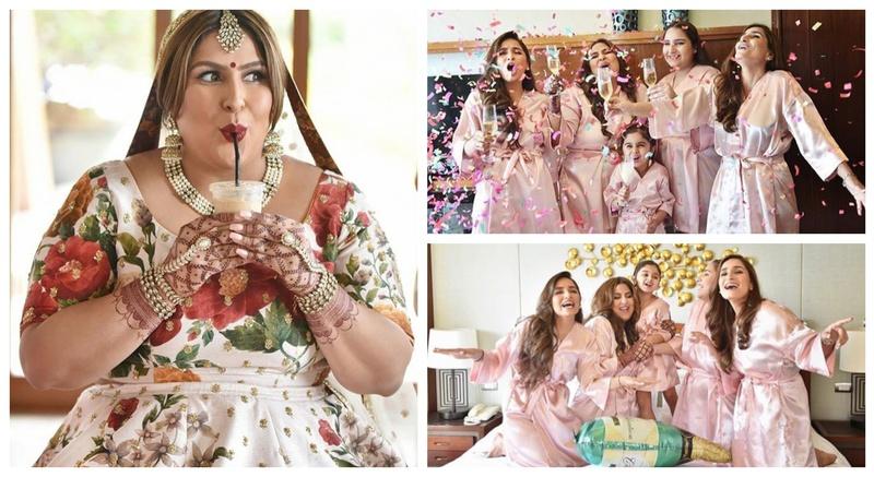 The most confident, radiant & happy Sabyasachi bride you will ever see! #bridechilla