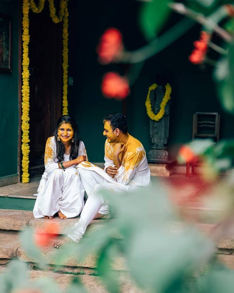 3) The Traditional Haldi Ceremony
