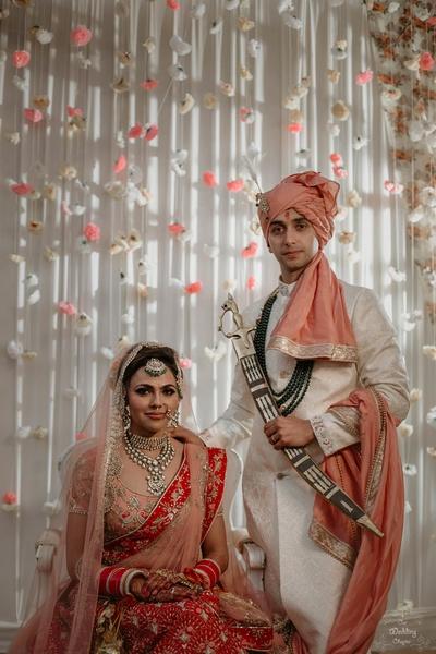 Pragya and Harsh look like a royal couple in their wedding attires.